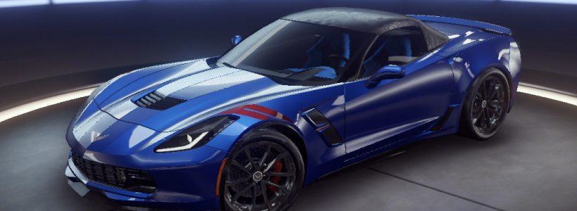 Chevrolet Corvette Grand Sport Отпустите