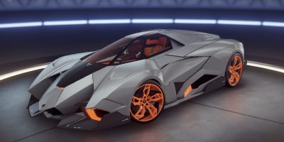 Lamborghini Egoista Unleashed