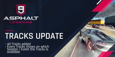 Tracks Updated!