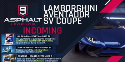 Lamborghini Aventador SV Coupe 入ってくる