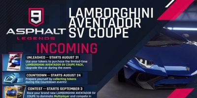 Lamborghini Aventador SV Coupe Gelen