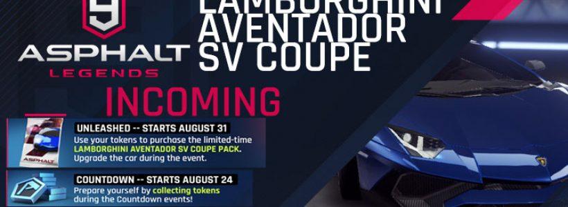 Lamborghini Aventador SV Coupe Incoming