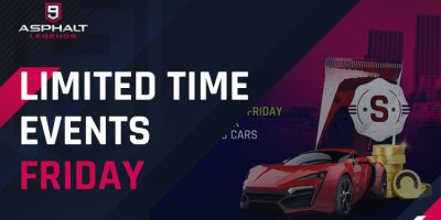 Limited Time Events Friday
