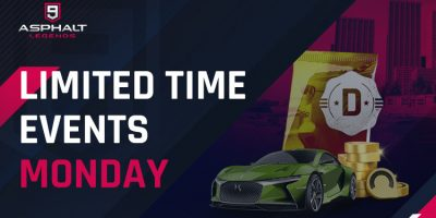 Limited Time Events Monday
