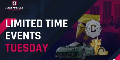 Limited Time Events Tuesday