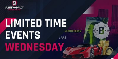 Limited Time Events Wednesday