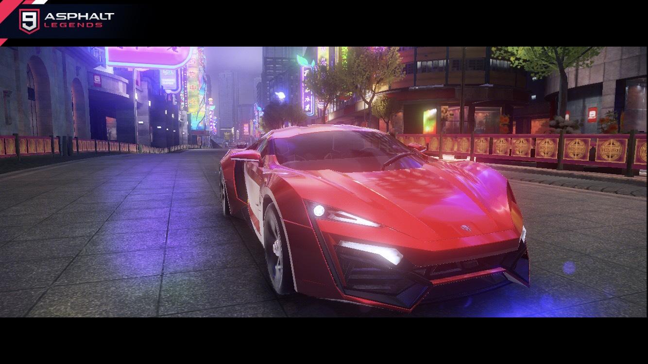 Asphalt 8  W Motors Lykan HyperSport