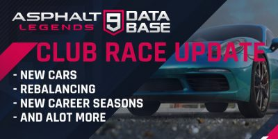 THE CLUB RACE UPDATE – WHAT'S NEW?