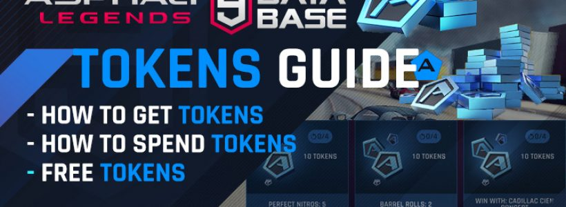Asphalt 9 Tokens Guide – Free Tokens