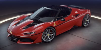 Ferrari J50 Yayın