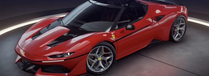 Ferrari Lanzamiento de J50