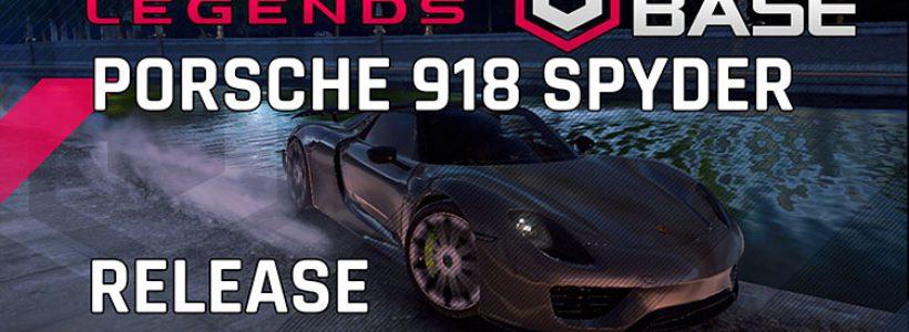 Porsche 918 Spyder Bırakın