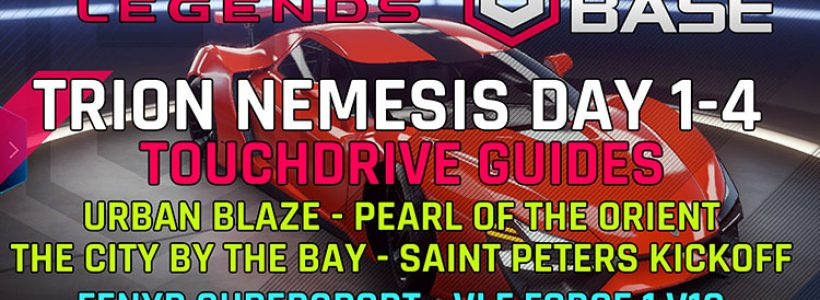 Trion Nemesis Event Day Guides sur les guides Touchdrive Event 1-4 Vidéos