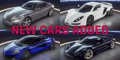 4 New Cars adicionado