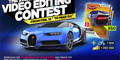 The Incredible Video Editing Contest - Feb. 15 to Mar. 04
