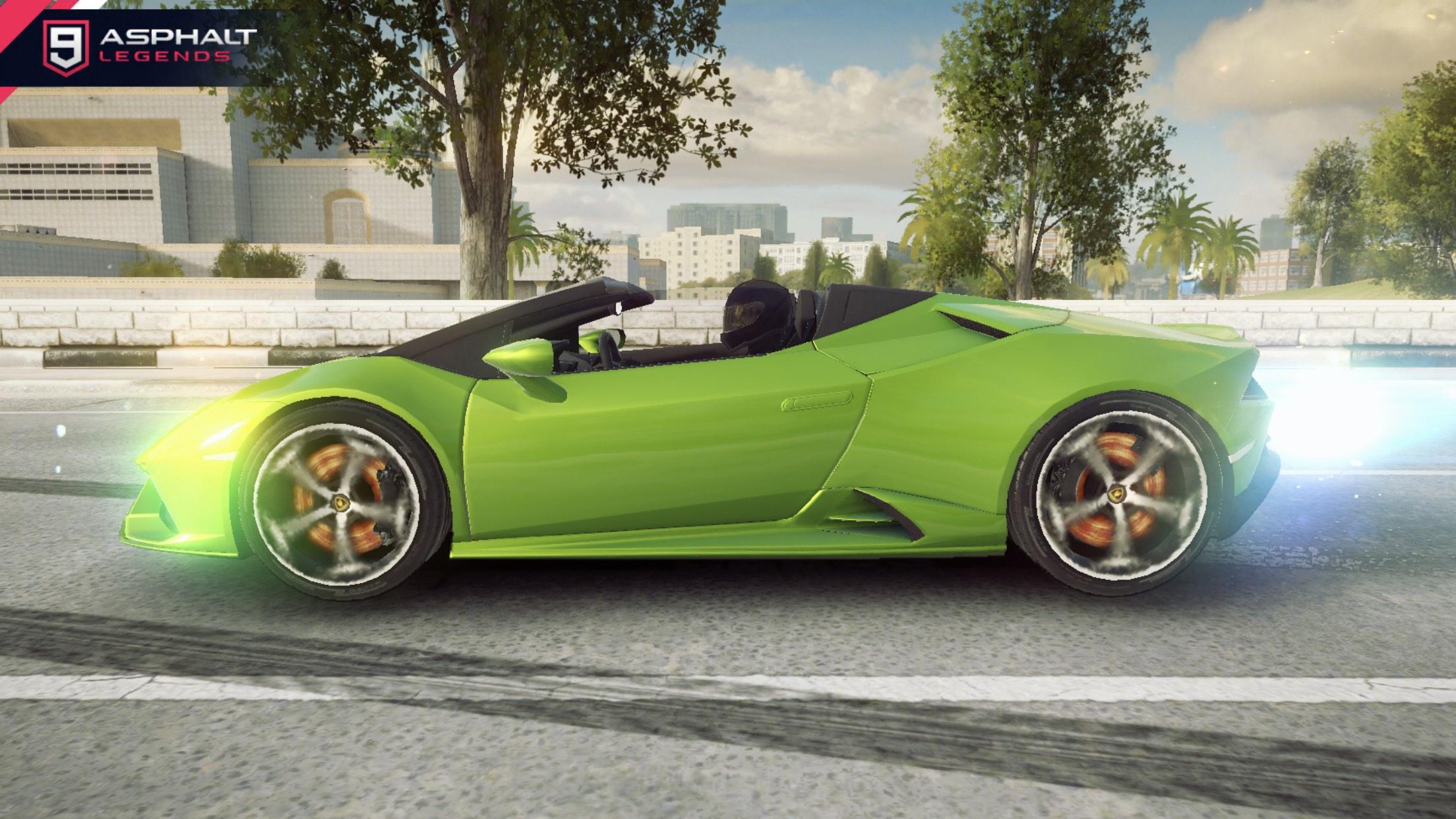 Lamborghini Huracan Evo Spyder Asphalt 9 Legends Database Test