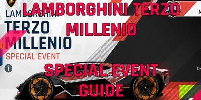Lamborghini Guide de l'événement spécial Terzo Millenio