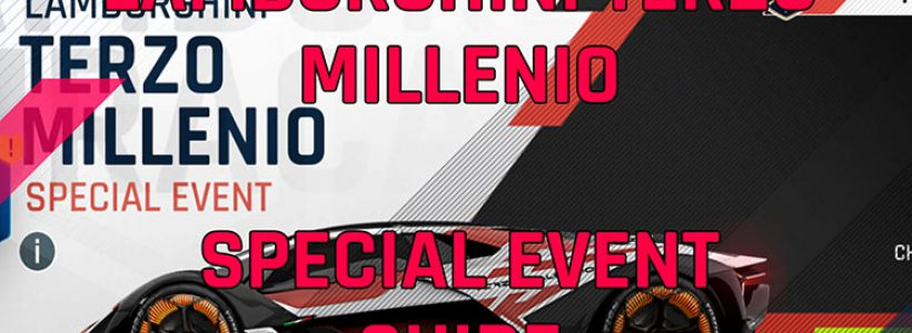 Lamborghini Terzo Millenio Special Event Guide