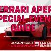 Ferrari LaFerrari Aperta Special Event Guide