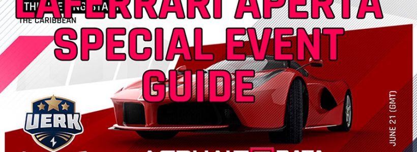 Ferrari LaFerrari Guia do evento especial de Aperta