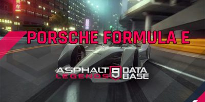 Porsche E公式即将到来 Asphalt 9 Legends